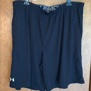 NWT Men's UA black athletic shorts - 4XL